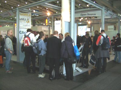 CAcert booth at CeBIT 2010
